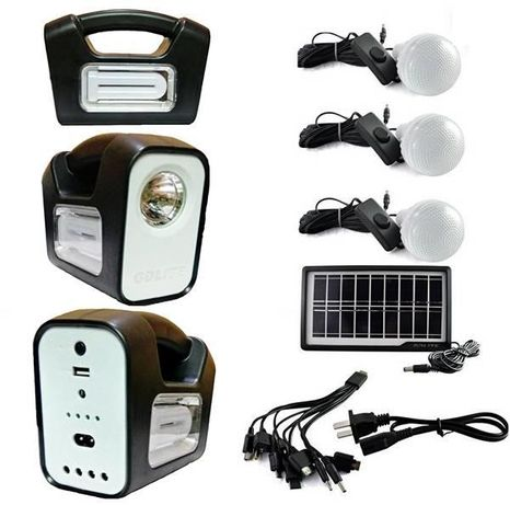 GDLITE 3 Соларна система за домашно и къмпинг осветление