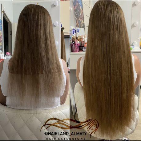 Наращивание волос! Коррекция волос!