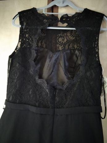 Rochie de ocazie  ,44 -46 , Mascara , neagră