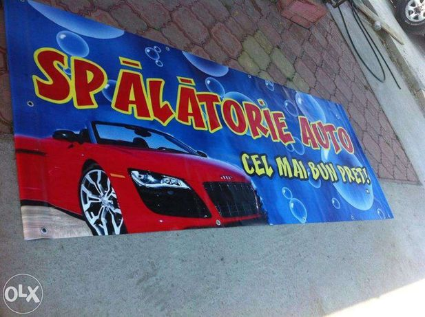 Bannere, mesh , autocolant printat, window graphics