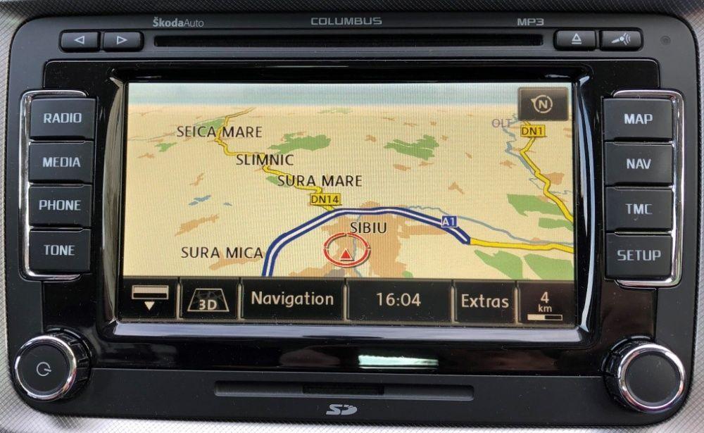 VW harti RNS 510 315 310 MIB