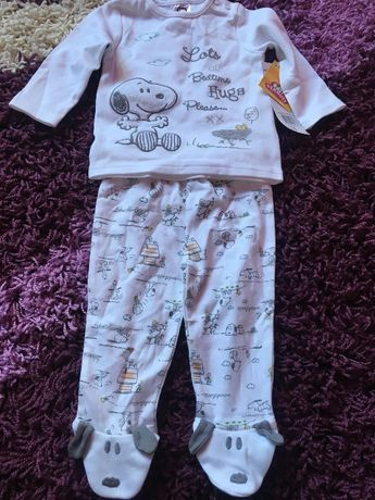 set bebe cu snoopy original