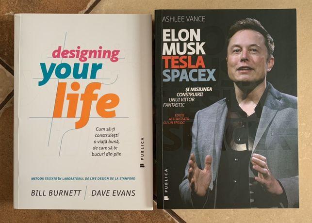 Cărți Ed. Publica: Designing your life și Elon Musk