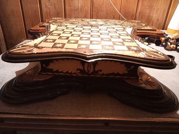 Продам ларец шашки шахматы ручная работа