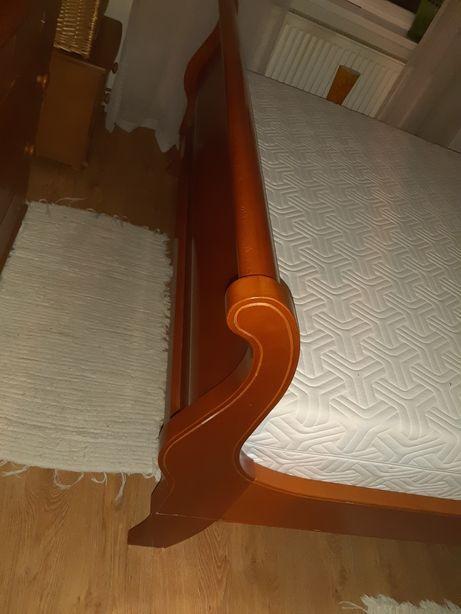 Pat dormitor din lemn din Italia din lemn de cires