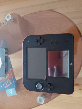 < --ЧИСТО НОВ-->Nintendo DS2 С Игра Mario Party Star Rush