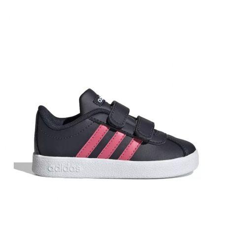 №22, 23, 27; Оригинални Детски маратонки Adidas VL Court, Infant, Navy