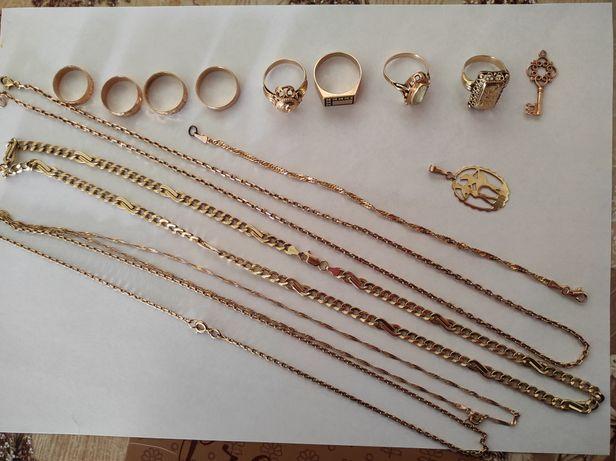 Bijuterii de aur ,la bucată sau toate la un preț !