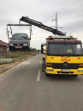 Tractari Auto Sibiu, Ridicari auto cu macara, Tractari camioane