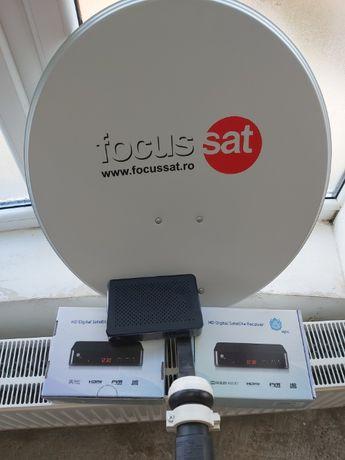 Focus sat receptor HD digital satelit , (STB) Focus Sat