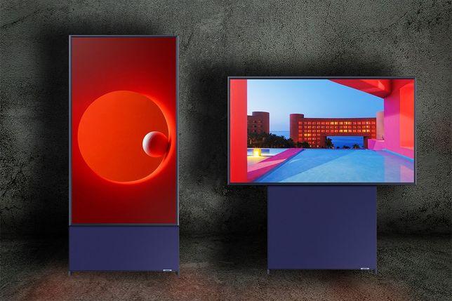 Продам Новый Телевизор Samsung QE43LS05TAU The Sero QLED