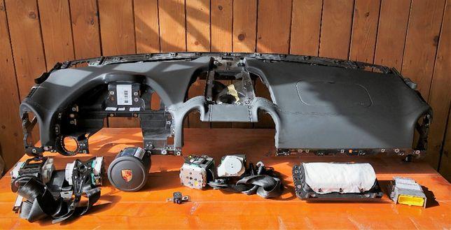 Porsche Cayenne 7p 9y Panamera 971 970 kit airbag plansa bord pasager