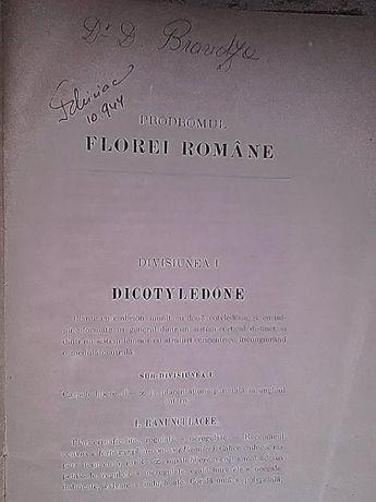 Prodromul Florei Romane de Dr. D. Brandza