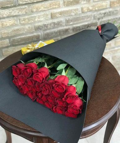 Бесплатная доставка цветов по городу Туркестан