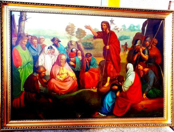 Tablou baroc scena religioasa scoala Austrica sau Germana din sec XVII