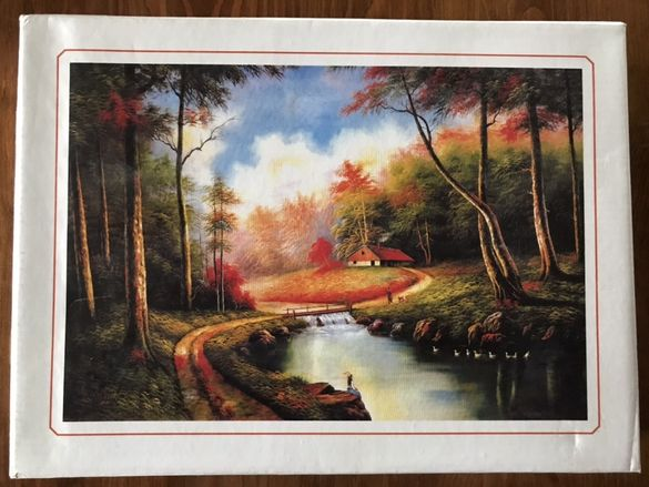 "Пъзел ""Jigsaw Puzzle 500 Pieces"" пейзаж"