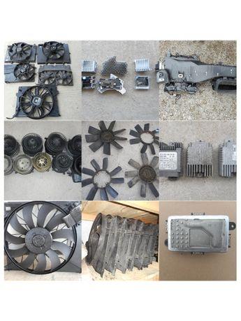 Перки вентилатори за двигатели и парно реостат управления от Мерцедес