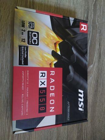 Видеокарта rx 550 GDDR5 (новая)