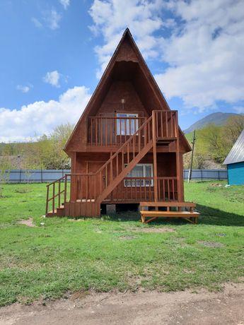 Сдам пятиместный двухэтажный домик на побережье Бухтарминского водохра