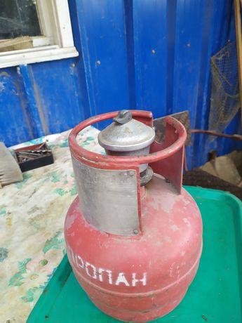 Продам газ баллон 5 литров