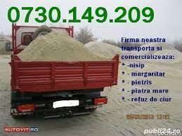 Vand/Transport Piatra nisip balast margaritar 1 Decembrie*