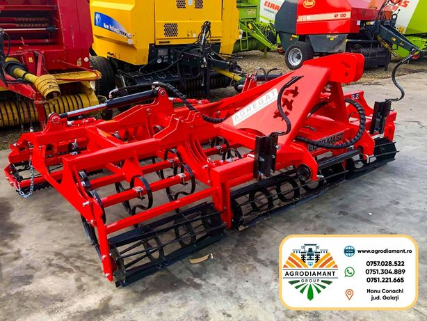 Combinator Cultivator Agricol 4.2 m fabricat in Polonia Euromasz