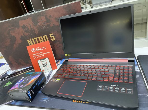 Игровой Acer Nitro 5 - Ryzen 5-3550H/8Gb/SSD512Gb/GTX1650/120Hz/FHD