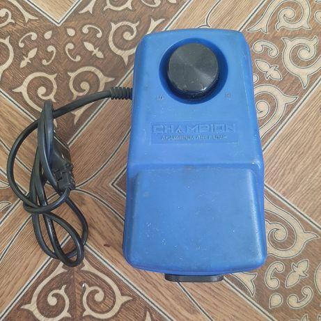 Компрессор CX-0098 для аквариума регулируемый (5,3Вт, 2х4,5л/
