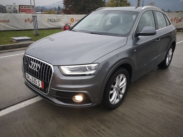 "Audi Q3*S Line*Quattro*Led*Keyless Entry&Go*Navi*Hi-Fi*Alu 18""Germania"