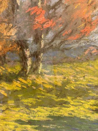 Tablou vechi Irany Iritz Sandor - Pastel de toamna