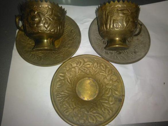 лот старинен бронз непълен