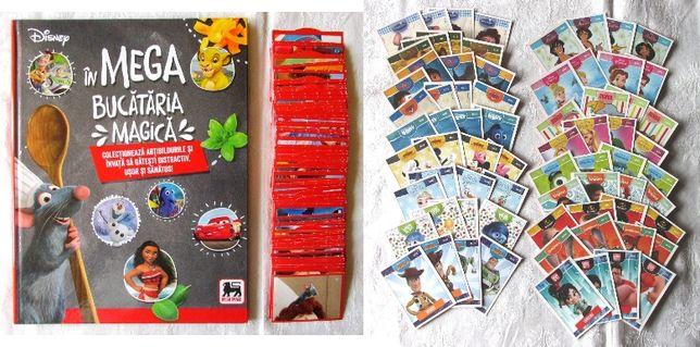 MEGA Bucataria Magica = Album +144 cartonase cu abtibilduri +72 Disney
