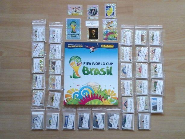 Panini Set complet si Album gol BRAZILIA Brasil 2014 Brazil