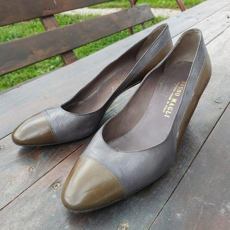 Pantofi piele vintage Bruno Magli 40