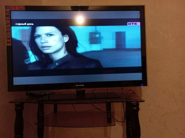 Продам телевизор с подставкой в хорошем состоянии