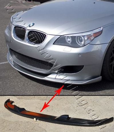 Спойлер (тунинг добавка) за предна броня на BMW Е60 M5 БМВ Е60