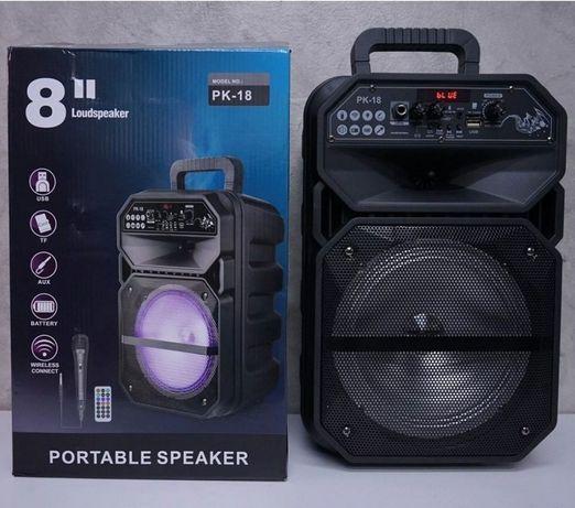 Беспроводной колонка BT-Speaker,караоке колонка,колонка с микрофоном