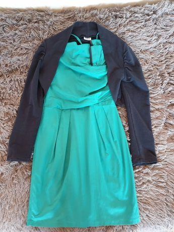 Комплект детска рокля и сако