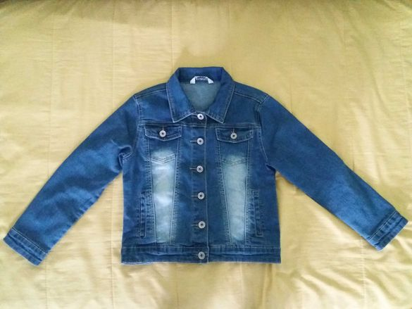 Детско дънково яке