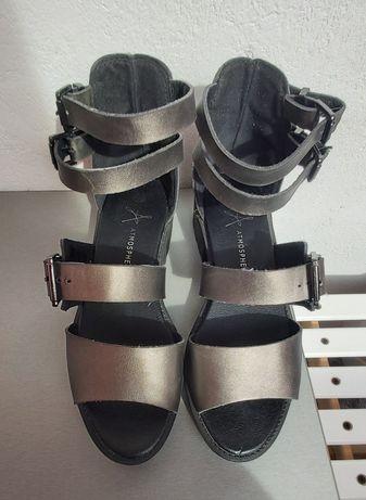 Pantofi piele H&M, sandale Atmosphere