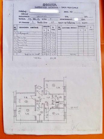 apartament 4 camere decomandat Savinesti Neamt centrala termica