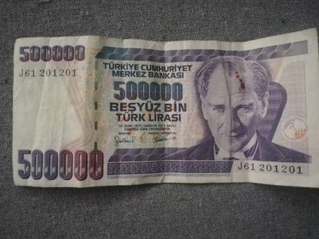 Bacnota turceasca 500000