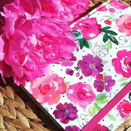 Луксозен тефтер Floral Fusion - формат А5
