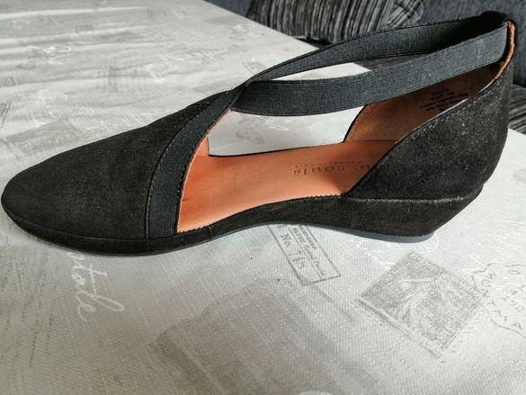 Дамски обувки в черен цвят