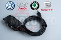 Гаранция! VCDS VAG-COM 21.3 HEX-V2 Автодиагностика за VW/AUDI/Skoda/S