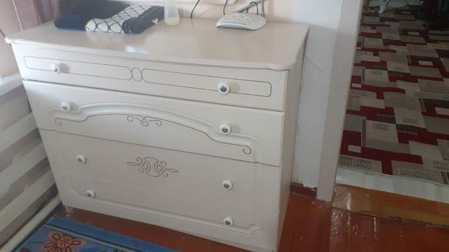 Спальный шкаф тумбочка