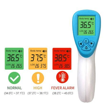 Инфрачервен безконтактен термометър за телесна температура F01