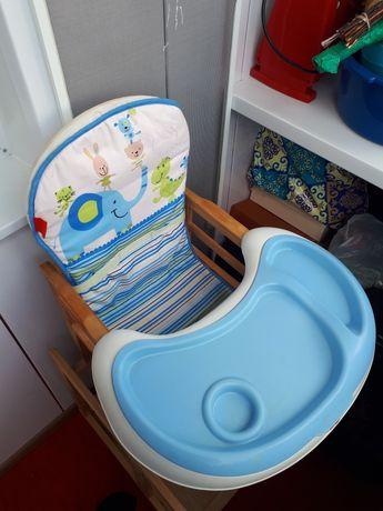 Деревянный (экологичный) детский трансформер стол со стулом
