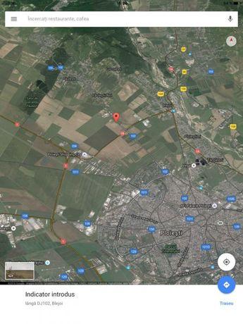 Teren 2500 mp , Paulesti (benz Ecombustibil) 40 euro/mp,