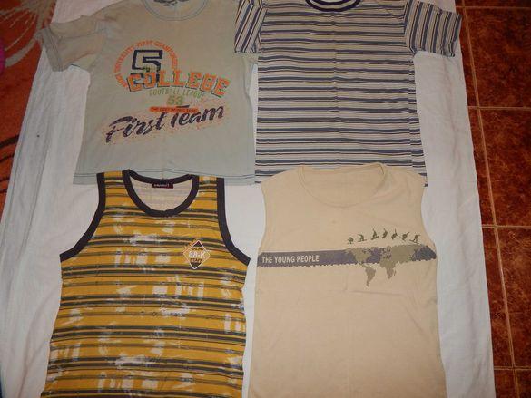 Тениски и потници за 140 см. момче